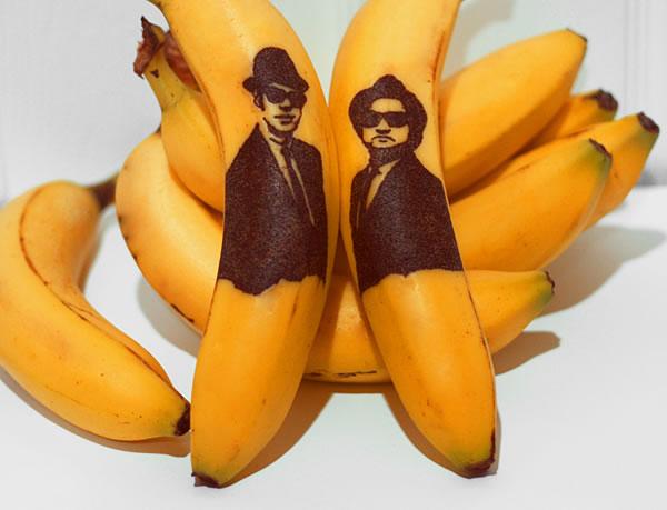Bananas con mensajes 3
