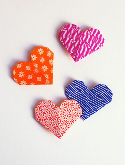 Origami de San Valentín 9