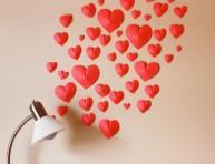 imagen Corazones de papel para San Valentín
