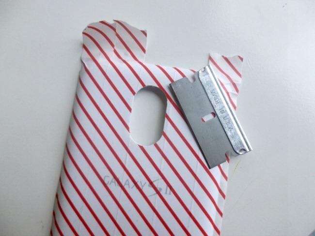 smartphone decorado con cinta washi 4
