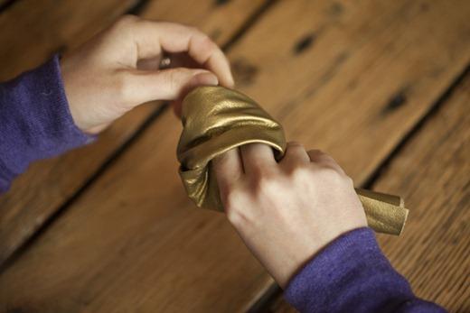 brazalete de cuero anudado5