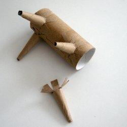 Ovejita con tubos de cartón3