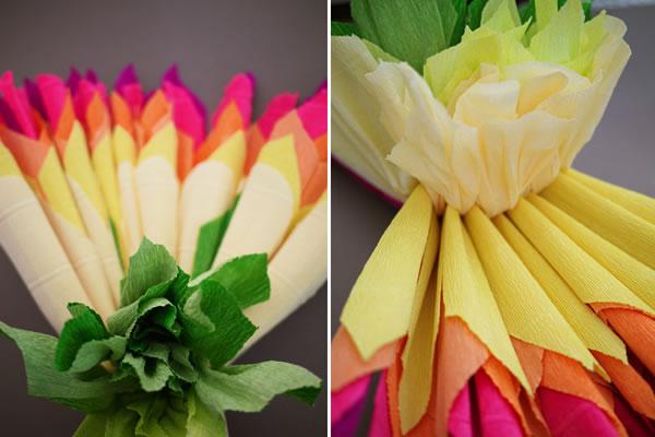 Flores de papel crepé11
