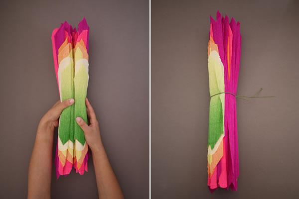 Flores de papel crepé8