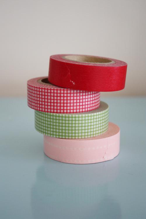 Imanes con cinta washi 1