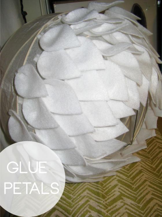 L mpara de papel decorada gu a de manualidades - Lamparas de papel ikea ...