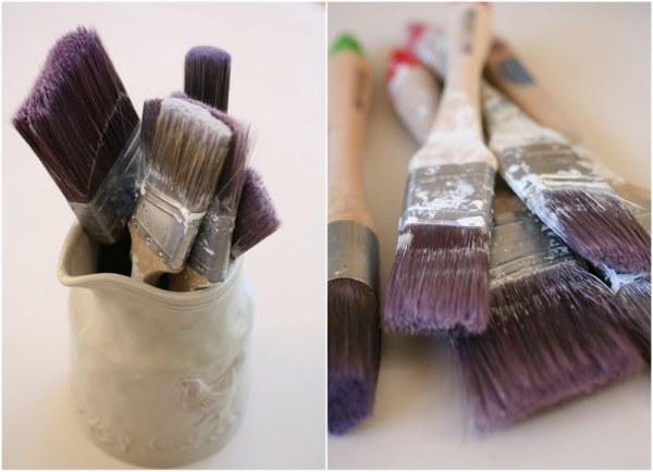 Tip para limpiar pinceles 1