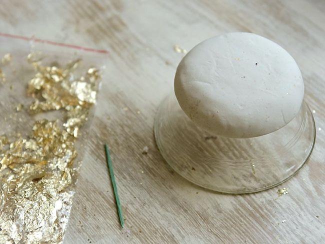 Plato para anillos con pan de oro2