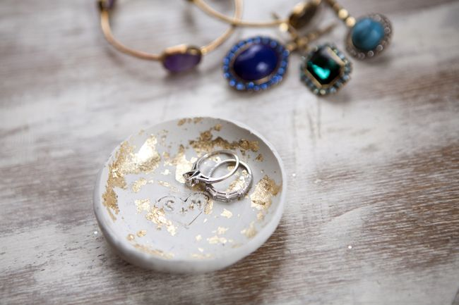 Plato para anillos con pan de oro5