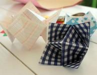 imagen Recipientes multiuso con la técnica del origami