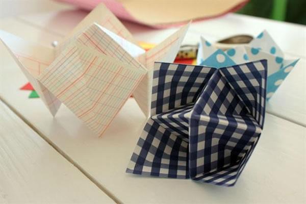 Recipientes origami 0