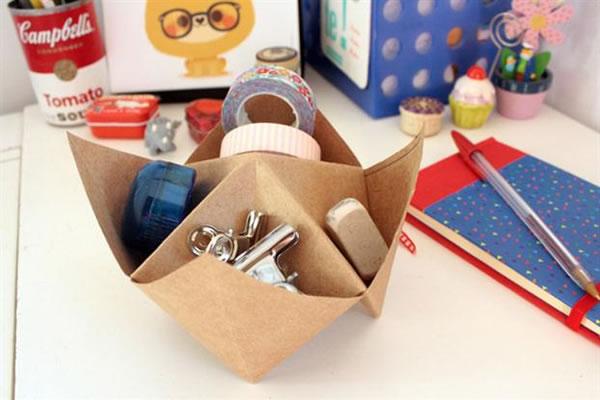Recipientes origami 10