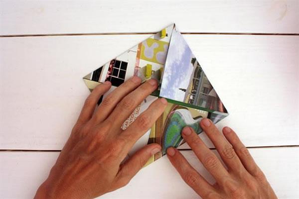 Recipientes origami 3