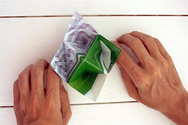 Recipientes origami 8