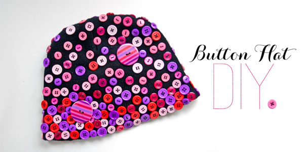 Sombrero de botones
