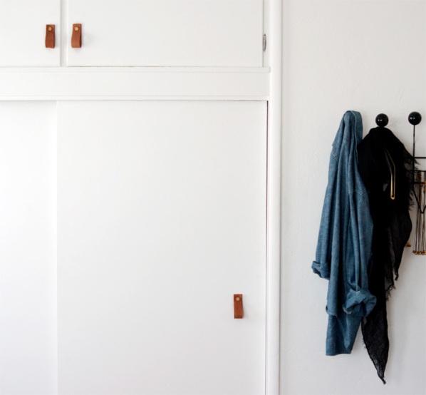 Tiradores de cuero para muebles y armarios gu a de manualidades - Tiradores armarios ...