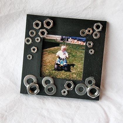 Un marco para fotos del día del padre
