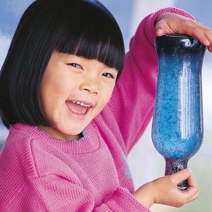 Botella de brillos para niños 1