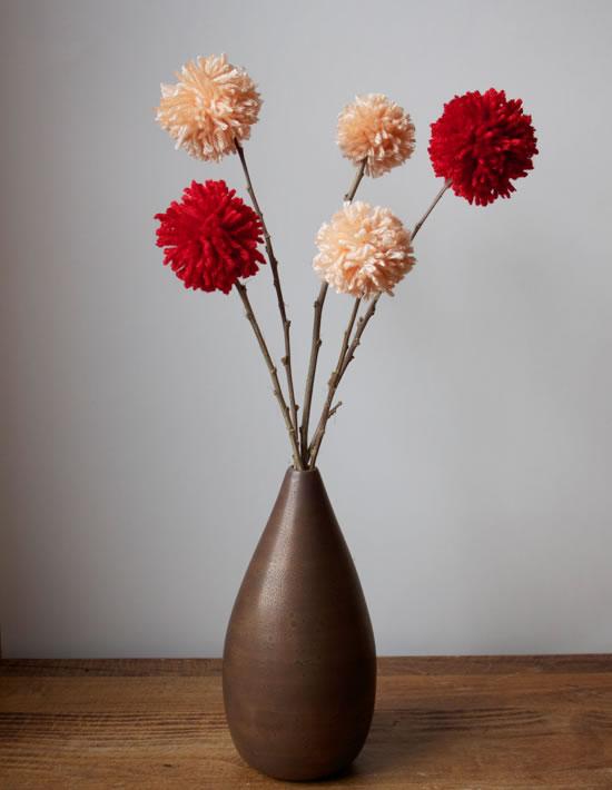 Flores de lana 1
