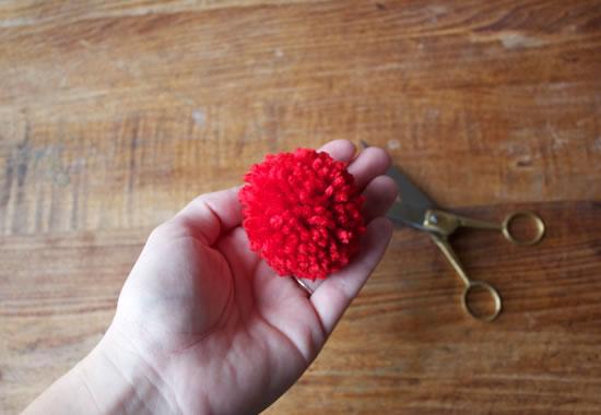 Flores de lana 7