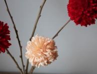 imagen Hermosas flores de lana