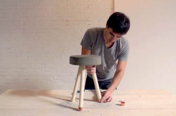 Paso a paso para un taburete de cemento gu a de manualidades for Como hacer un piso de cemento paso a paso