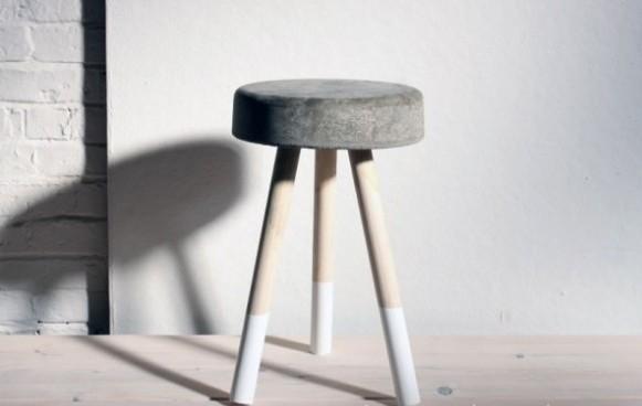 taburete de concreto 1