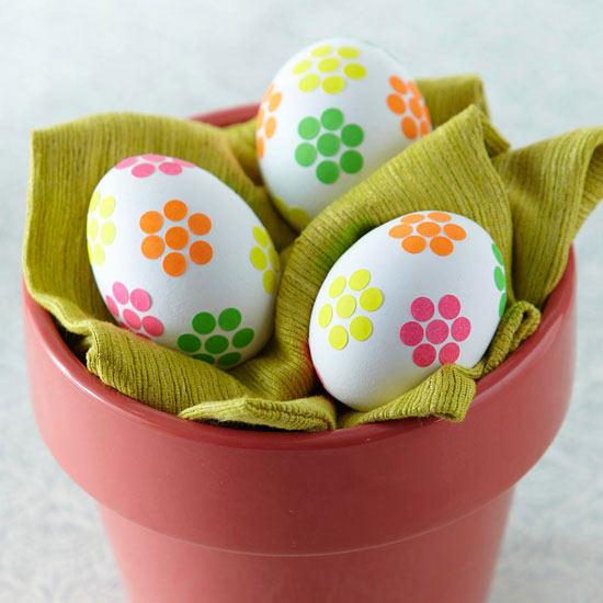 Huevos decorados para pascua 2