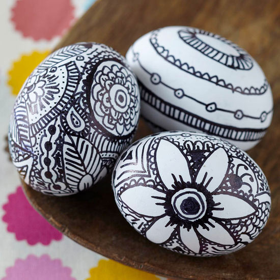 Huevos decorados para pascua 1