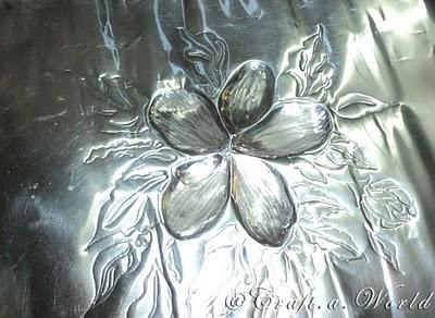 Diseño repujado en aluminio 06