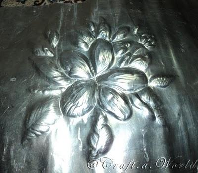 Diseño repujado en aluminio 07