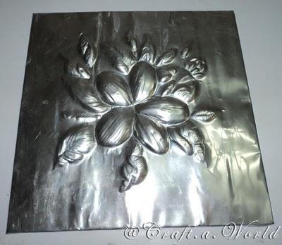 Diseño repujado en aluminio 11
