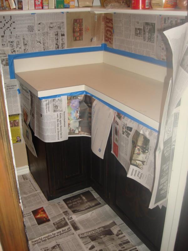 Idea para pintar una encimera de formica gu a de - Como pintar una cocina ...
