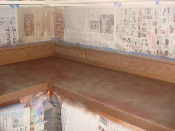 Idea para pintar una encimera de formica gu a de for Pintar encimera cocina