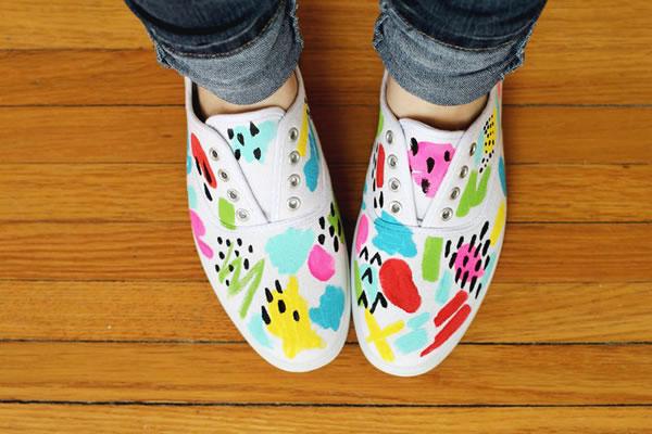 Zapatillas decoradas 4
