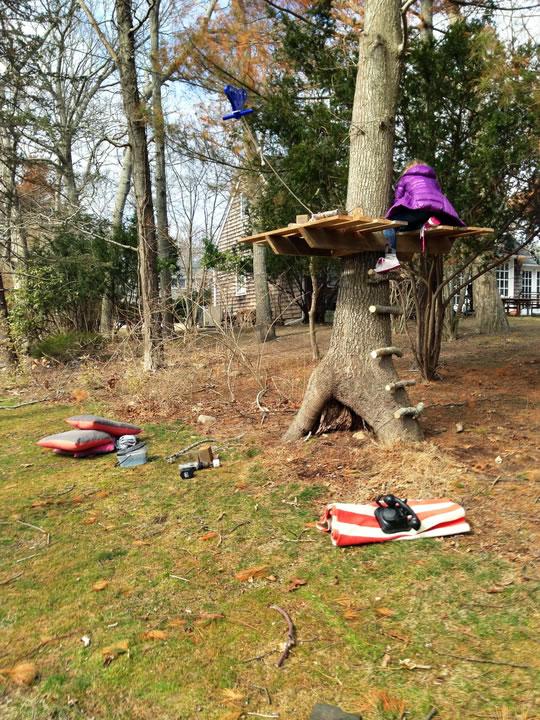 Una casa del rbol para tus hijos gu a de manualidades - Casitas en el arbol ...