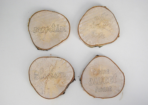 Posavasos de madera 4