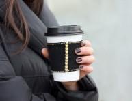 imagen Cómo hacer protectores para los vasos de café