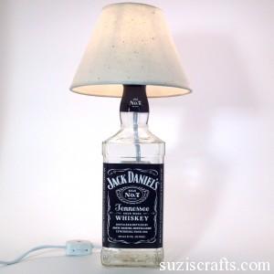 Lámparas con botellas 6