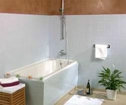 C mo pintar los azulejos del cuarto de ba o gu a de - Pintar bano con hongos ...