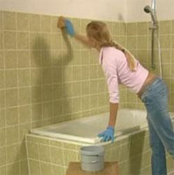 C mo pintar los azulejos del cuarto de ba o gu a de - Pinturas para pintar azulejos ...