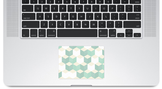 Trackpad de notebook decorado 1