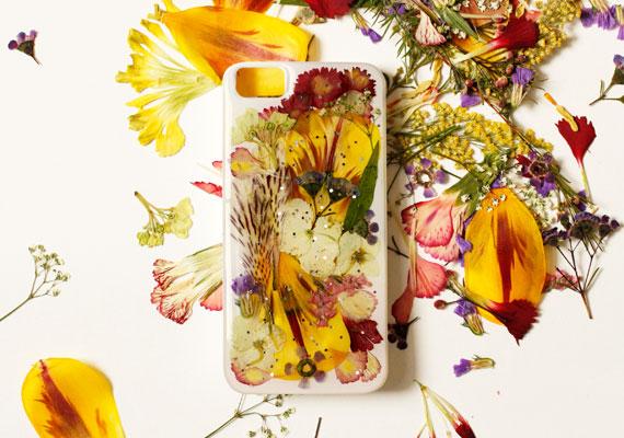 Funda para iphone con flores 1