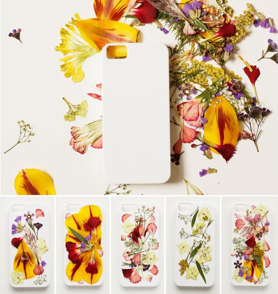 Funda para iphone con flores 2