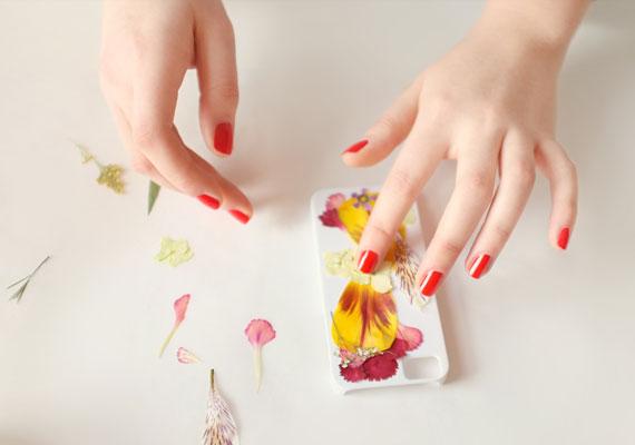 Funda para iphone con flores 3