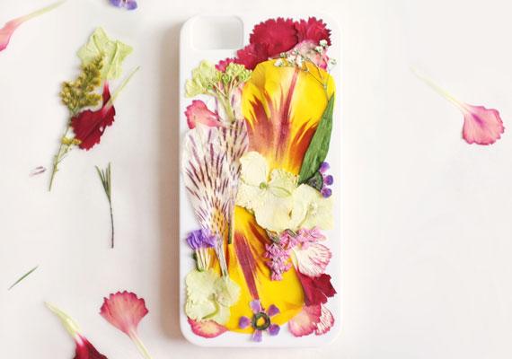 Funda para iphone con flores 4