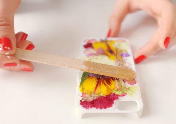 Funda para iphone con flores 10