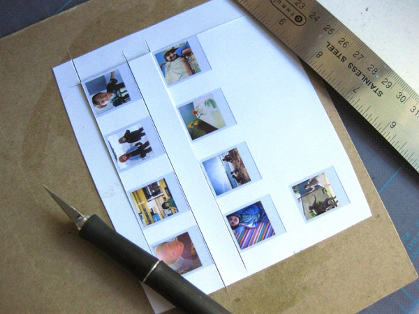 Imanes refrigerador estilo polaroid 2