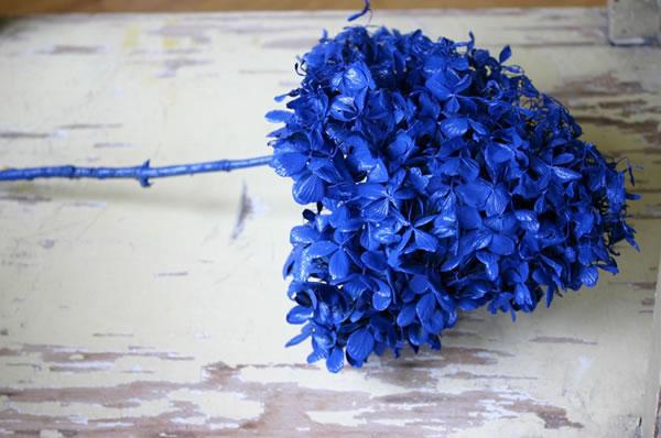 Hortensias naturales pintadas 3