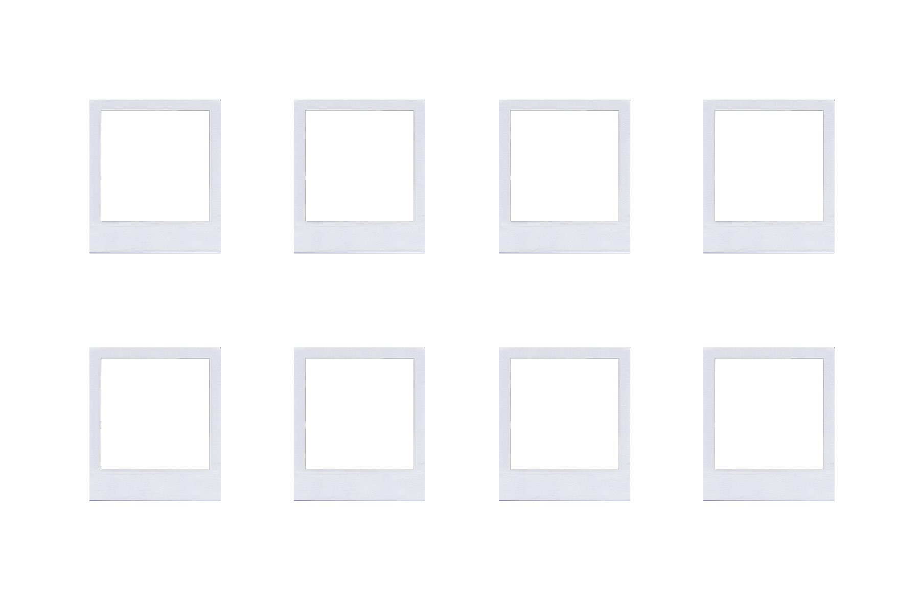Preciosos imanes estilo polaroid - Guía de MANUALIDADES